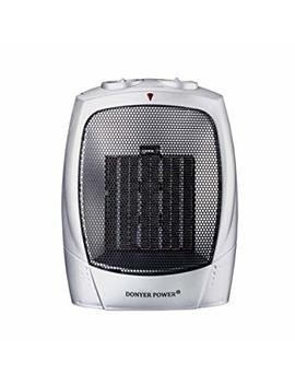 Donyer Power 1500 Watt Portable Space Heaters Ceramic Space Heater With Adjustable Thermostat Overheat Protection by Donyer Power