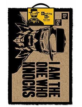 Breaking Bad Heisenberg 'i Am The One Who Knocks' Door Mat, Multi Colour, 40 X 60 Cm by Breaking Bad
