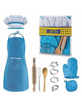 Christmas Best Gifts For 3 12 Year Old Girls Boys, Dimy Cooking And Baking Set Chef Set For Boys Little Girls Kids Toddlers Popular Hot Toys For 3 12 Year Old Girls Boys Games Age 3 12 Blue Dmcf2 by Let's Go!
