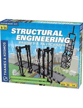 Thames & Kosmos Structural Engineering: Bridges & Skyscrapers by Thames & Kosmos