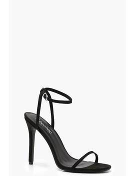 Skinny Strap Pointed Heels by Boohoo