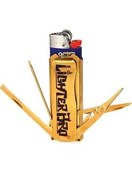 Lighter Bro Lighter Sleeve   Multi Tool   Stainless Steel by Lighter Bro
