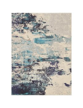 Wrought Studio Velva Ivory/Blue Area Rug & Reviews by Wrought Studio