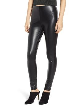 Reverie Faux Leather Leggings by The Fifth Label