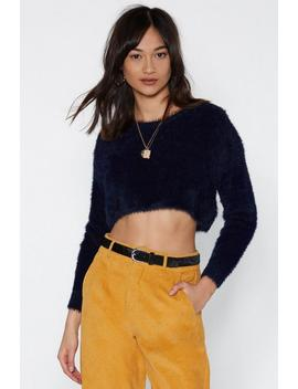Get Knit Right Cropped Sweater by Nasty Gal
