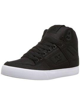 Dc Men's Pure High Top Wc Tx Se Skate Shoe by Dc