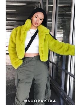 Call It What U Want Fur Jacket by Akira