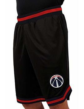 Unk Nba Men's Mesh Basketball Shorts Woven Active Basic, Black by Unk Nba