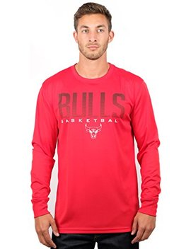 Unk Nba Men's T Shirt Athletic Quick Dry Long Sleeve Tee Shirt, Team Color by Unk Nba