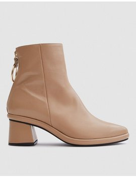 Ring Slim Boot In Beige by Reike Nen