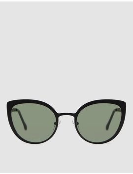 Logan Sunglasses In Black Matte by Komono