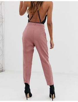 Asos Design 80's Tailored Trouser With Deep Pleat by Asos Design