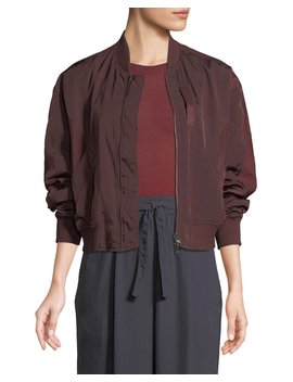 Reversible Zip Front Bomber Jacket by Vince
