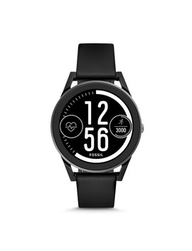Refurbished Gen 3 Smartwatch   Control Black Silicone by Fossil
