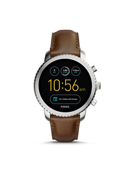 Refurbished Gen 3 Smartwatch   Explorist Brown Leather by Fossil