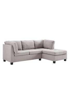 Ebern Designs Steeves Reversible Sectional by Ebern Designs