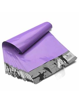 Fu Global 200pcs 10x13 Poly Mailers Shipping Envelops Boutique Custom Bags Enhanced Durability Multipurpose Envelopes Keep Items Safe & Protected(Purple,200 Pcs) by Fuxury
