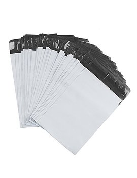 Metronic100 Pcs 6 X 9 White Poly Mailer Envelopes Shipping Bags With Self Adhesive, Waterproof And Tear Proof Postal Bags by Metronic