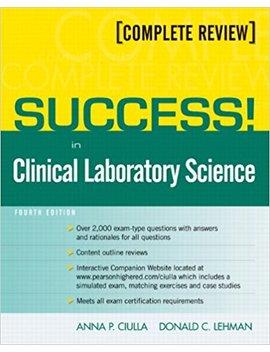 Success! In Clinical Laboratory Science (4th Edition) by Amazon