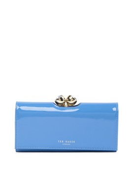 Honeyy Twisted Bobble Patent Leather Matinee Wallet by Ted Baker London