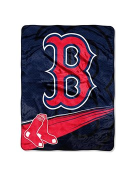 The Northwest Company Officially Licensed Mlb Boston Red Sox Retro Raschel Throw Blanket by The Northwest Company