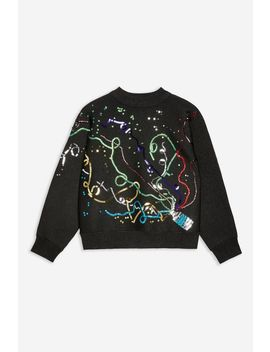 Christmas Party Popper Jumper by Topshop