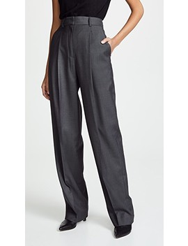 Pleat Trousers by Theory