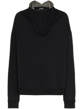 Oversized Front Hooded Cotton Jumper by Raf Simons