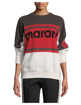 Gallian Logo Colorblock Sweatshirt by Etoile Isabel Marant