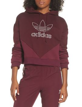 Crop Hoodie by Adidas Originals