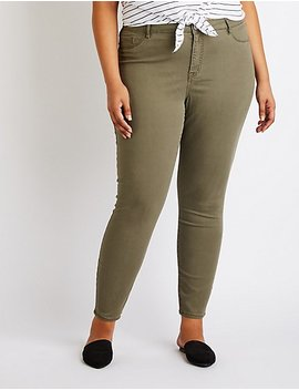 Plus Size Refuge Skintight Legging Jeans by Charlotte Russe