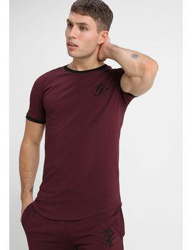 Ringer Tee   Print T Shirt by Gym King