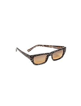 X Double Rainbouu Cold Wave Sunglasses by Le Specs