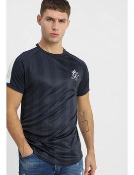 Stripe Retro Tee   Print T Shirt by Gym King