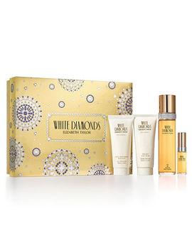 Elizabeth Taylor White Diamonds Perfume Gift Set For Women, 4 Piece by Elizabeth Taylor