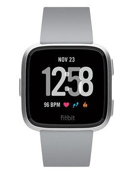 Versa™ Gray Touchscreen Smart Watch 39mm by Fitbit