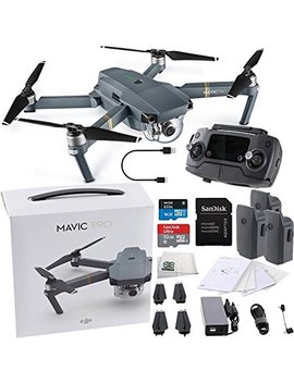 Dji Mavic Pro Collapsible Quadcopter Ultimate Bundle by Dji