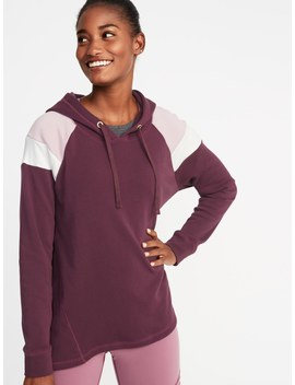 Color Blocked Swing Hoodie For Women by Old Navy