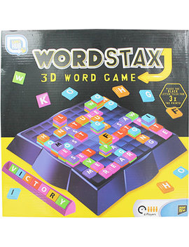 Word Stax 3 D Game by The Works