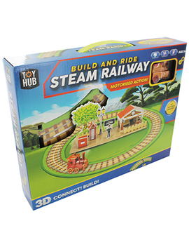 Build And Ride Steam Railway by The Works