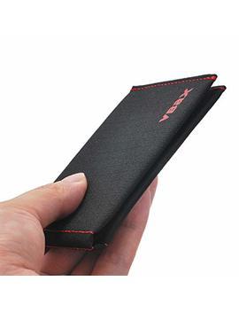 Mens Bifold Wallet Rfid Minimalist Slim Front Pocket Wallet by Vbax