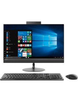 """520 24 Arr 23.8"""" Touch Screen All In One   Amd Ryzen 3 Series   8 Gb Memory   1 Tb Hard Drive   Black by Lenovo"""
