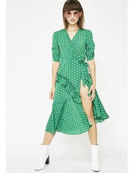 Feelin' Dotty Polka Dot Dress by Love Harmony