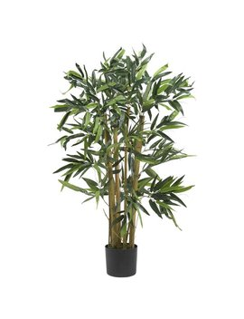 Nearly Natural Biggy Bamboo Tree In Planter & Reviews by Nearly Natural