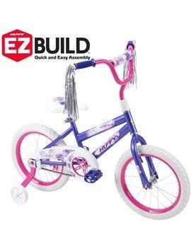 "Huffy 16"" Sea Star Ez Build Kids Bike For Girls', Purple by Huffy"