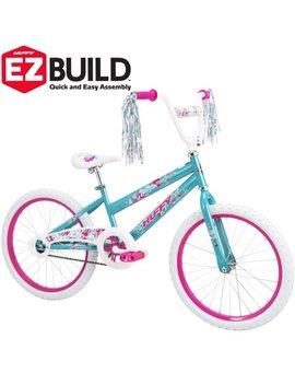 "Huffy 20"" Sea Star Ez Build Girls' Bike, Blue by Huffy"
