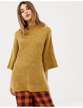 Pieces Wide Sleeve Jumper by Pieces