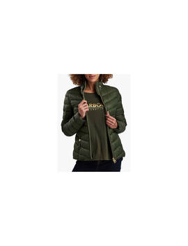 Barbour International Auburn Quilted Jacket, Moto Green by Barbour