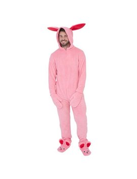 A Christmas Story Bunny Union Suit Pajama Costume by Briefly Stated