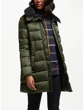 Barbour Heritage Darcy Quilt Baffle Jacket, Sage by Barbour
